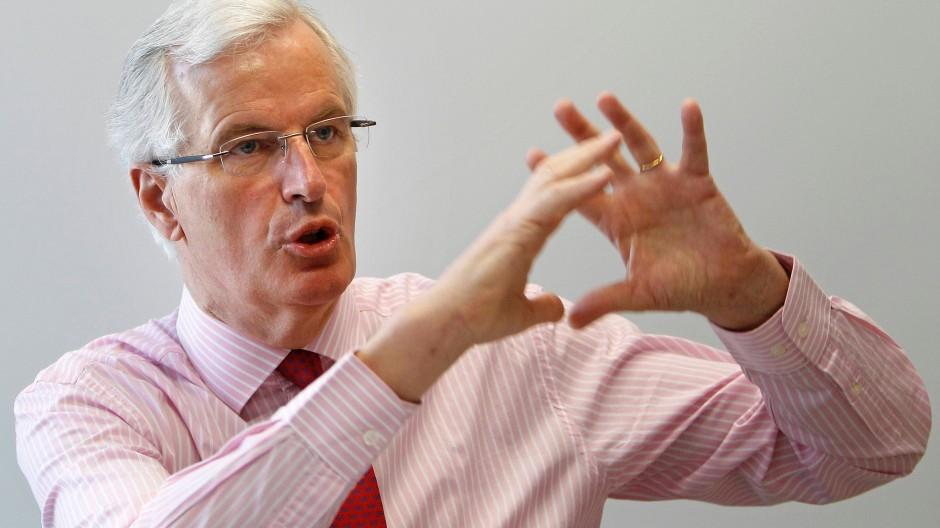 """""""Die Unternehmen dürfen für die Manager kein Selbstbedienungsladen sein"""", sagt Binnenmarktkommissar Michel Barnier."""