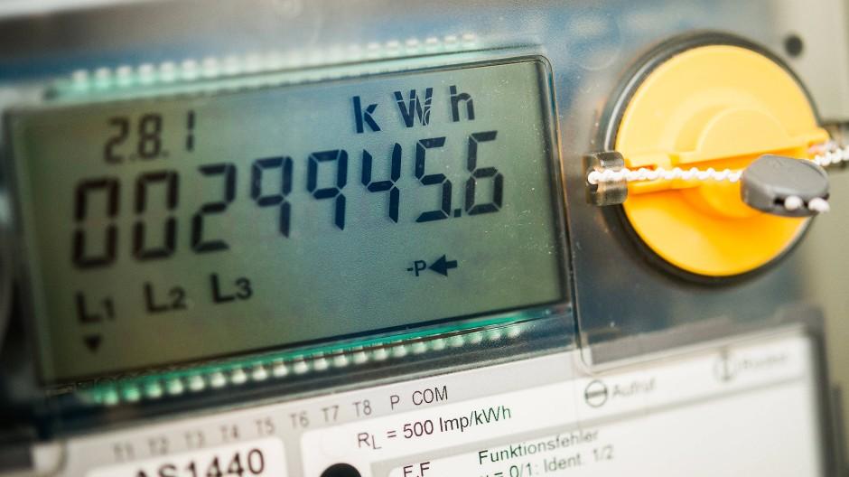 Die Uhr tickt: Stromzähler in Brandenburg