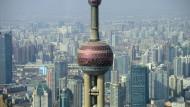 Wirtschaftszentrum Schanghai