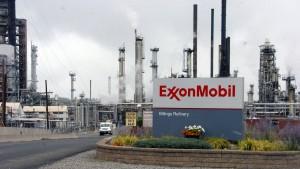 Exxon Mobil beantragt Ausnahme von Russland-Sanktionen