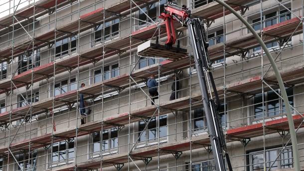 Nur 27.000 neue Sozialwohnungen im vergangenen Jahr