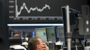 An der Börse tobt ein perfekter Sturm