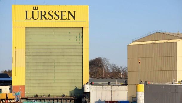 Bremer Lürssen-Gruppe übernimmt Peene-Werft
