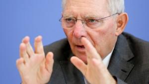 Schäuble stellt Haushalt 2014 vor