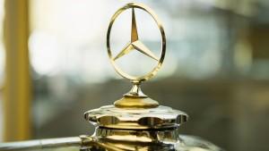 Der Daimler-Stern soll wieder glänzen