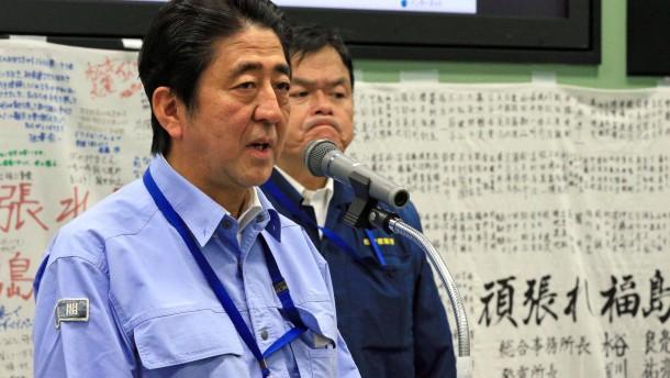 Japan bittet Ausland um Hilfe in Fukushima