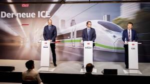 Bahn ordert Hochgeschwindigkeitszüge für die Zeit nach Corona