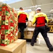 Insbesondere zu Weihnachten werden auch sonst schon viele Pakete verschickt.