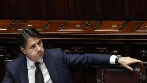Nervosität in Rom