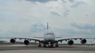 Auch Airbus sagt dem Riesenflieger leise Servus