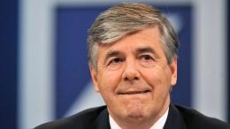 Früherer Deutsche-Bank-Chef redet über Fusion mit der Commerzbank