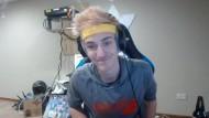 """Tyler """"Ninja"""" Blevins in einem Livestream auf Twitch"""