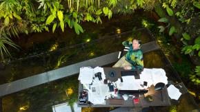 Patrick Blanc - Der international bekannte französische Botaniker und Gartenkünster ist  berühmt für seine  Wandbegrünungen