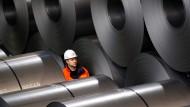 Europa fürchtet um seine Stahlbranche