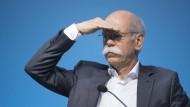 Daimler-Chef Dieter Zetsche nimmt die nächsten Ziele ins Visier.