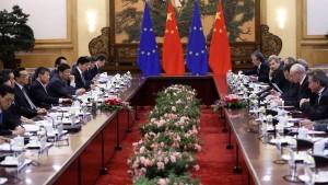 Chinesen wollen Wirtschaftsblock mit der EU