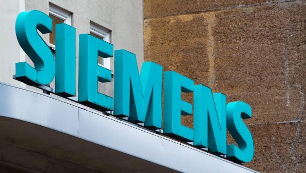 Siemens kippt den Ausblick