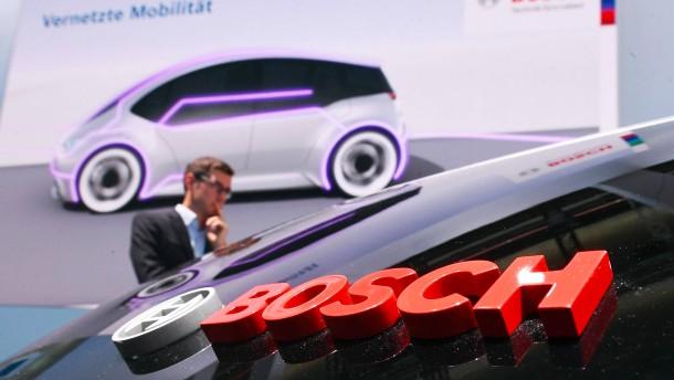 Bosch stellt sich auf ein schwieriges Jahr ein