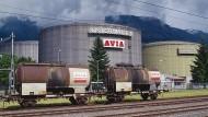 Tanklager in der Schweiz
