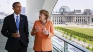 Obama und Merkel warnen vor Abschottung
