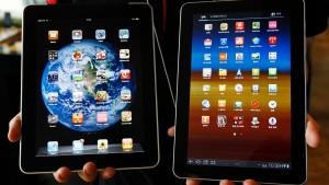 Apple droht Rückschlag im Streit um sein neues Tablet