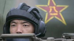 China setzt jetzt noch stärker auf Rüstung