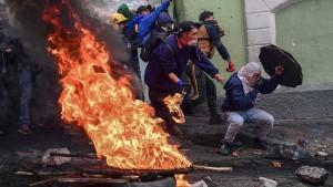 Ecuador unterbricht Ölexporte