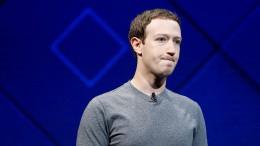 Netzwerk löscht persönliche Nachrichten von Zuckerberg