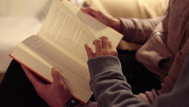 Tägliches Lesen verbessert die Schulnote