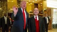 Trump feiert sich für 50.000 neue Stellen