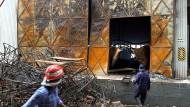 Vor vier Jahren brannte die Fabrik in Pakistan aus.