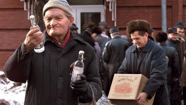 Russland erhöht Wodka-Preise um ein Drittel