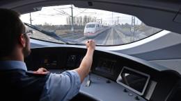 Lokführer führen Tarifverhandlungen fort