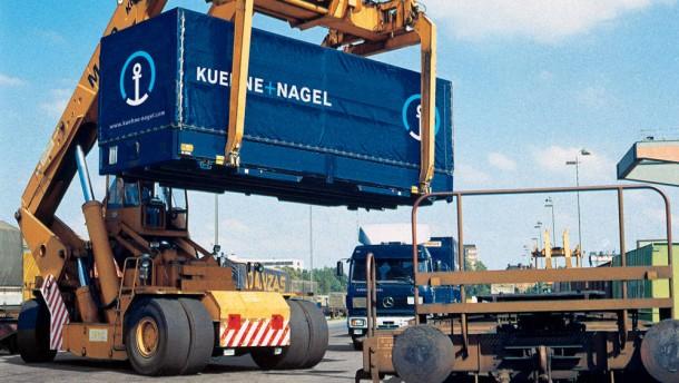 Logistikonzern Kühne + Nagel mit neuer Spitze