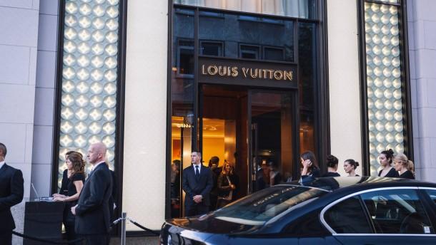 Die Luxusmarken drängen in die Innenstädte