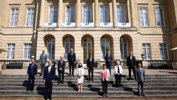 G-7-Länder einigen sich auf globale Mindeststeuer von 15 Prozent