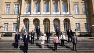 Vertreter der G-7-Länder bei ihrem Treffen in London