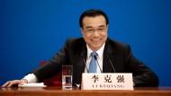 Gute Laune: Chinas Premier Li Keqiang