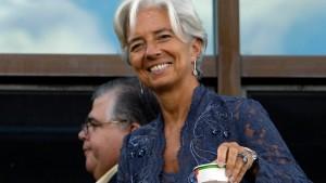 Lagarde will Rekapitalisierung von Europas Banken