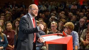 Schecks von Schulz