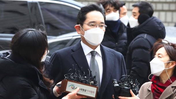 Der Samsung-Erbe muss ins Gefängnis
