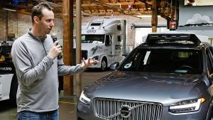 Uber entlässt umstrittenen Entwickler selbstfahrender Autos