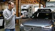 Anthony Levandowski ist bislang chef des Programms für selbstfahrende Autos von Uber.