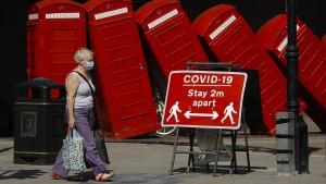 Minus 20 Prozent – britische Wirtschaftsleistung sinkt dramatisch