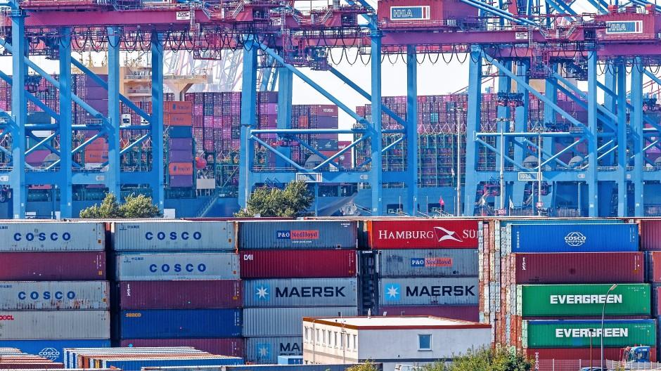 Container im Hamburger Hafen: Nicht nur für Logistiker kann sich die Gründung einer Holding lohnen.