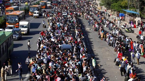 Der Exodus der indischen Arbeitsmigranten