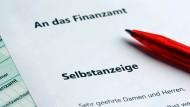 13.000 Deutsche haben sich im ersten Quartal selbst angezeigt.