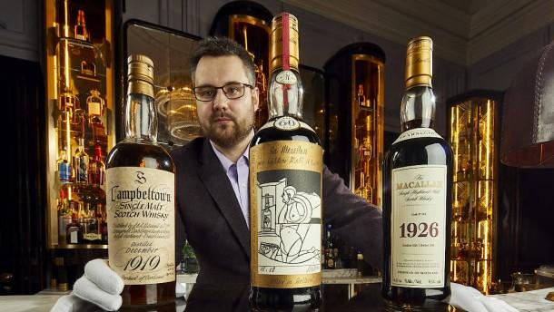Edler Whisky könnte Millionen einbringen