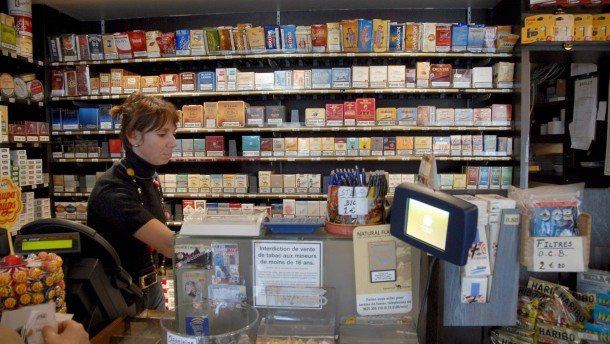 Französische Tabacs werden zu Banken