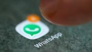 Wie viele Whatsapp-Nachrichten braucht es für eine Kantinen-Verabredung? Eine sollte doch wohl reichen!